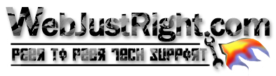 WebJustRight Tech Forums